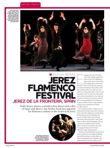 Jerez Flamenco Festival - Songlines