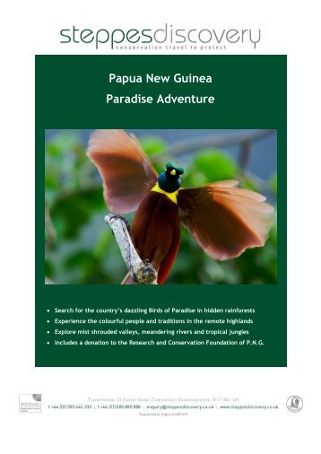 Papua New Guinea Paradise Adventure - Steppes Discovery
