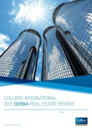 colliers international 2011 serbia real estate review - Siepa