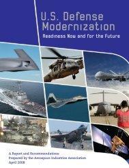 U.S. Defense Modernization - Aerospace Industries Association