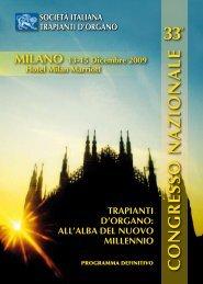 Scarica il programma in formato pdf - Università degli Studi di Milano