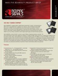 Product Brief - Redpine Signals