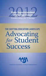 The Shifting Education Landscape: Advocating for Student Success ...