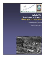 Buffalo City Development Strategy - Draft