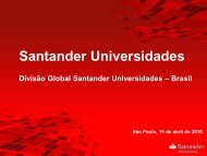 Santander Universidades - Universidade Presbiteriana Mackenzie