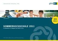 SommerhochSchule 2011 - Schule und Kindergarten in Südtirol