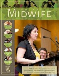 Association of Ontario Midwives Summer 2009: Vol. 2 No. 2 AOM ...