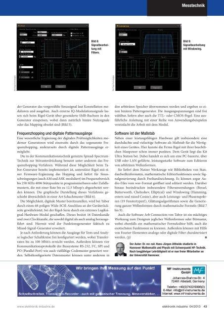 PDF-Ausgabe herunterladen (32.6 MB) - elektronik industrie