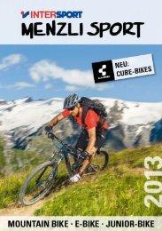 Bikes ansehen - Menzli Sport
