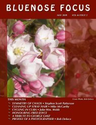 May Newsletter 2009 (GOOD) - Photographic Guild of Nova Scotia