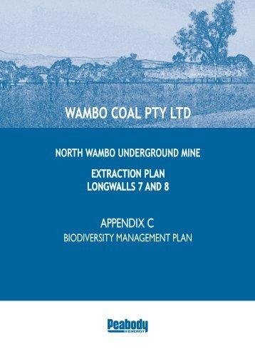 Biodiversity Management Plan - Peabody Energy