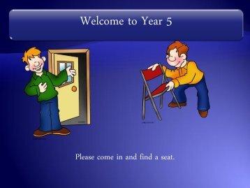 Year 5 Meet the Teacher.pdf - Beacon Hill School