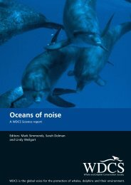 Oceans of noise - Hebridean Whale and Dolphin Trust