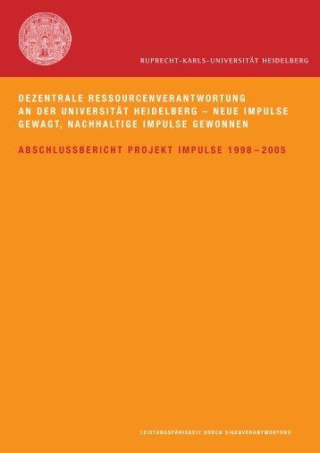 IMPULSE-Abschlussbericht (PDF-Datei, 1,5 MB) - ZUV - Ruprecht ...