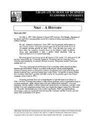 Tai-Wei Hu - Stanford Graduate School of Business