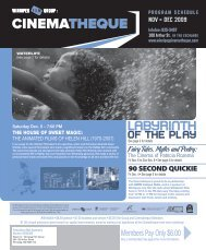 Labyrinth - Winnipeg Film Group