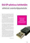 2011/1 - Etelä-Pohjanmaan liitto - Page 3