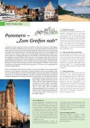 Pommern - Die Landpartie Radeln und Reisen GmbH