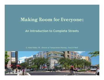 Making Room for Everyone: - The Ohio State University