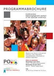 Progr. Conf. OGW 2012 - Deelnameregistratie