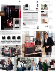 Features Brochure - Coffee Machines