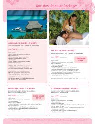 Our Most Popular Packages
