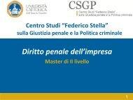 Diritto penale dell'impresa - Assbb