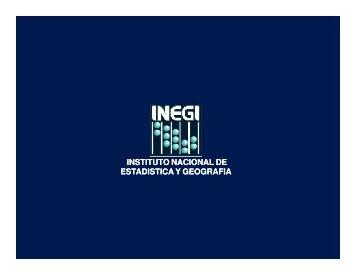 instituto nacional de estadistica y geografia ... - Financiera Rural