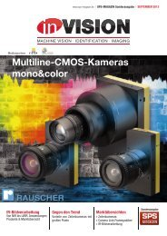 Multiline-CMOS-Kameras mono&color; - InVision MACHINE VISION