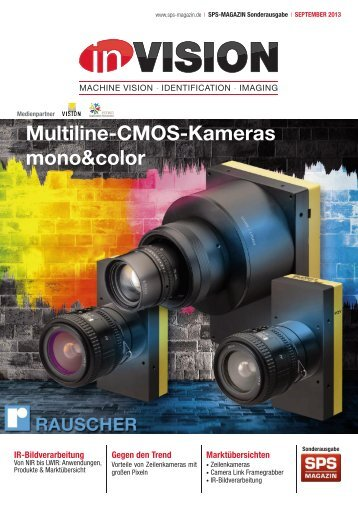 Multiline-CMOS-Kameras mono&color; - InVision|MACHINE VISION