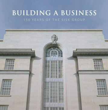 BUILDING A BUSINESS - Sisk 150