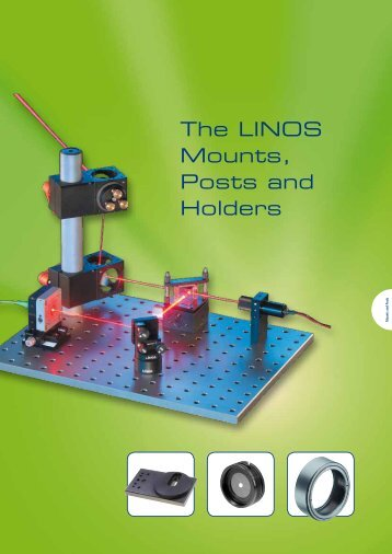 The LINOS Mounts, Posts and Holders - Qioptiq Q-Shop