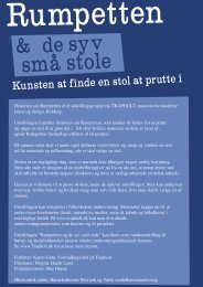 Kunsten at finde en stol at prutte i - Utzon Center