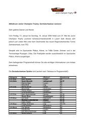 Pressebrief Junior Champion Trophy Januar 2006 - Tennis ...
