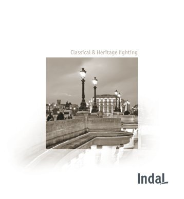Classical & Heritage lighting - Indal