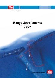 Range Supplements 2009 - Prym Consumer