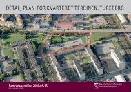 detaljplan för kvarteret terrinen, tureberg - Sollentuna kommun