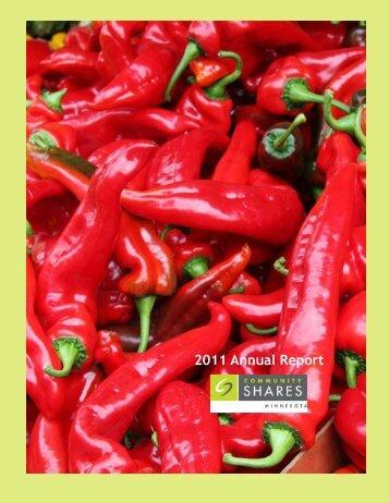 2011 Annual Report - Community Shares of Minnesota