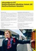 Lehrstellen in der Welt des Verkehrs - Zentralbahn - Seite 6