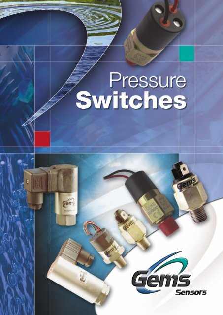 Gems PS75-20-6MSS-B-EL18 Series PS75 Cylindrical Pressure Switch 9//16-18 SAE Male SS Fitting 1//2 MNPT Conduit with 18 Flying Leads 15-75 psi Range Circuit SPST N.C Pack of 5