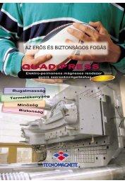 QUAD-PRESS - Tecnomagnete S.p.A.