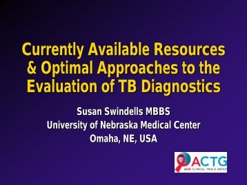 Download - Evidence-Based Tuberculosis Diagnosis