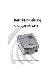 Estec Bedienungsanleitung Solarregler PICO 400 - Gerenda Solar