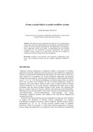 From a social wiki to a social workflow system