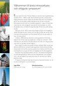 Här är programmet med presentation av föreläsarna och abstracts. - Page 2