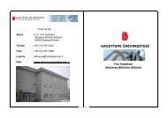 Hacettepe Üniversitesi Aktüerya Bilimleri Bölümü