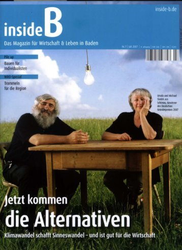 Page 1 O l Inside Das Magazin für Wirtschaft Er Leben in Baden ...
