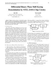 Differential Binary Phase Shift Keying ... - MIT Publications