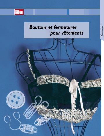 Prym Fermetures pour vêtements