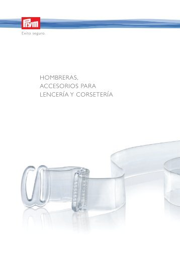 Prym_Categoria_VII_Hombreras , accesorios para lencería y ...